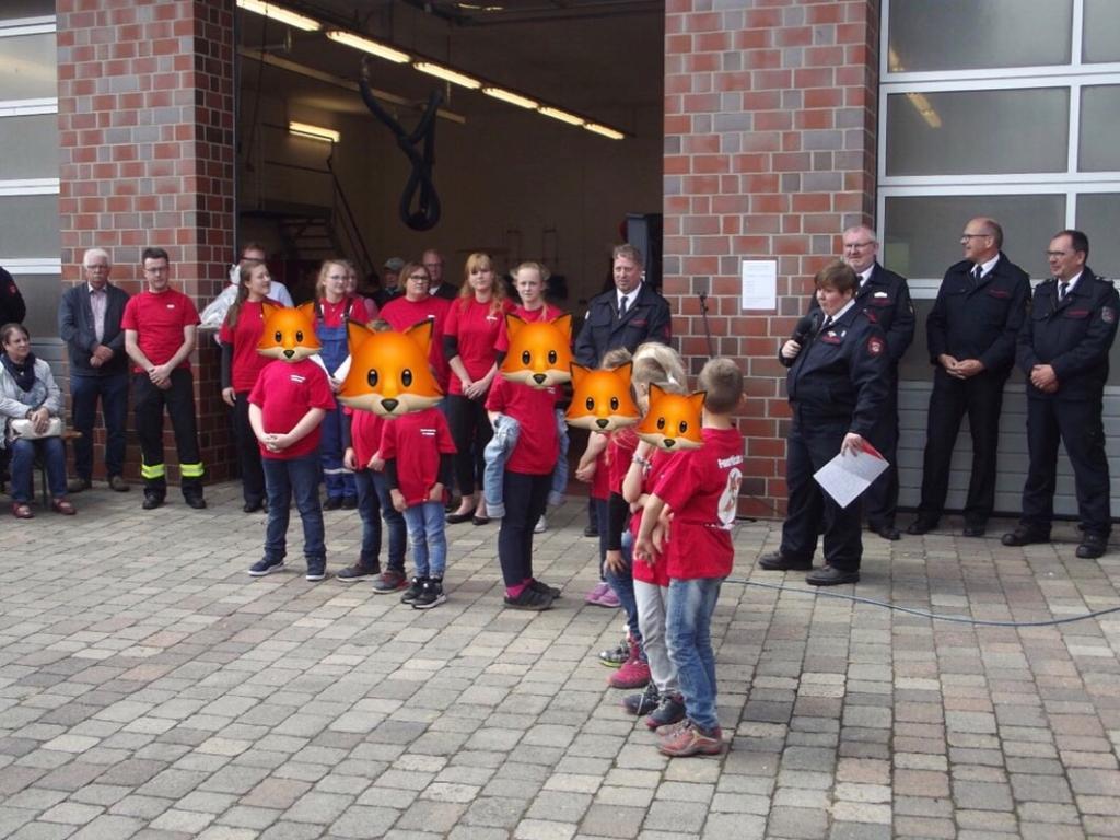 Kinderfeuerwehr für Preußisch Oldendorf