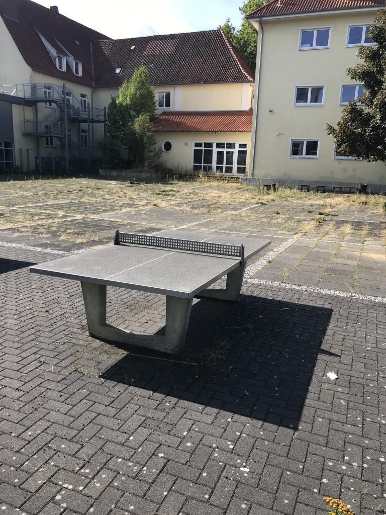 Tischtennisplatten sollen umziehen